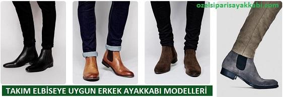 Kıyafete Uygun Erkek Bot Modelleri