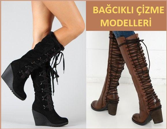 Bağcıklı Çizme Modelleri - 2