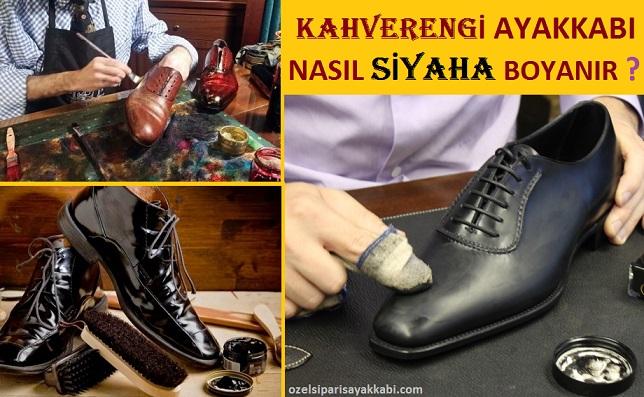 Kahverengi Ayakkabı Nasıl Siyaha Boyanır?
