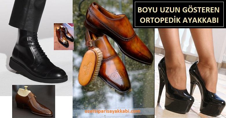 Boyu Uzun Gösteren Özel Ortopedik Ayakkabı Siparişi