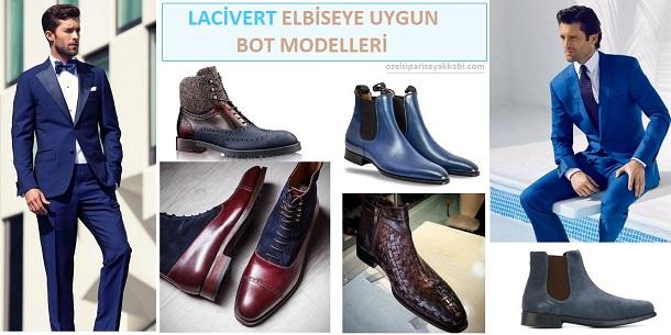 Lacivert Elbiseye Uygun Bot Modelleri -2