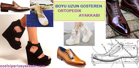 Kişiye Özel Ortopedik Ayakkabı - Gizli Topuk Çalışması