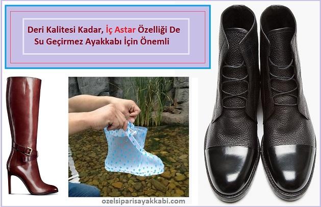 Ayakkabı Neden Ve Nasıl Su Geçirir?