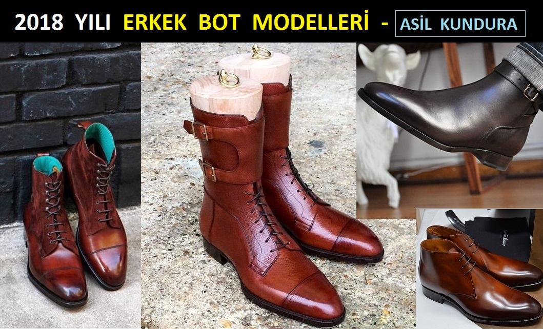 2018 Yılı Erkek Bot Modelleri – Asil Kundura