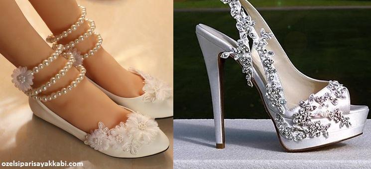 Gelinlik Ayakkabısı Alırken Bunlara Dikkat