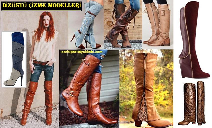 2018 Yılı Bayan Çizme Modelleri – Asil Kundura