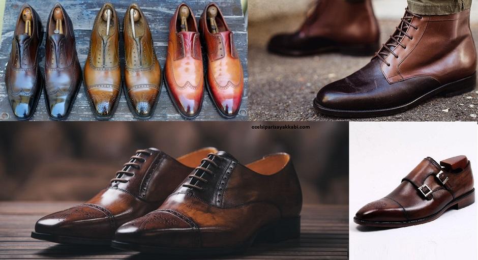 Erkeklere Özel Kaliteli Deri Ayakkabılar