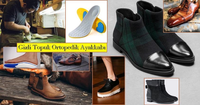 Gizli Topuk Ortopedik Ayakkabı Modelleri – 2018