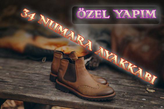 Kişiye Özel 34 Numara Ayakkabı
