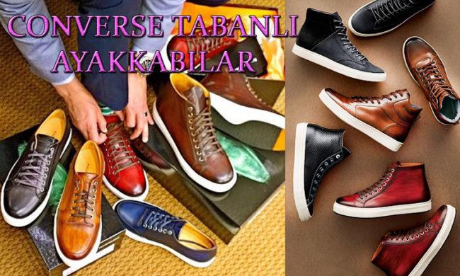 Converse Tabanlı Erkek Ayakkabı Modelleri