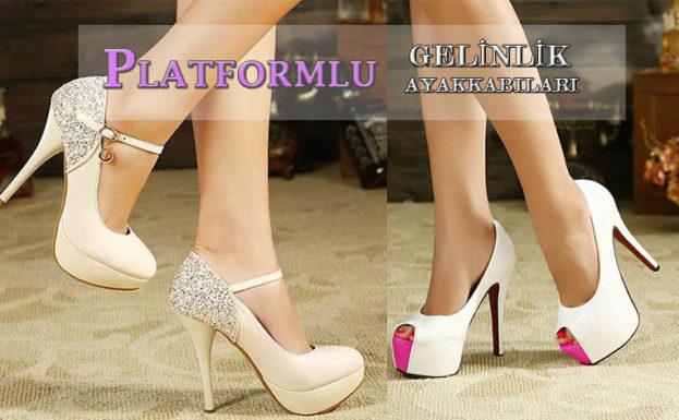 Platformlu Gelinlik Ayakkabıları