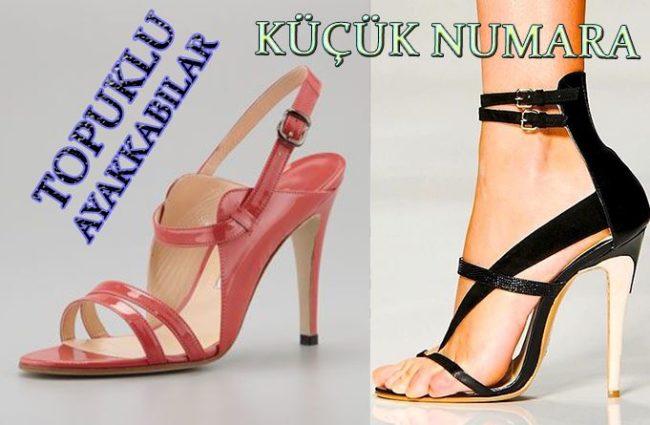 Küçük Numara Topuklu Ayakkabı Modelleri