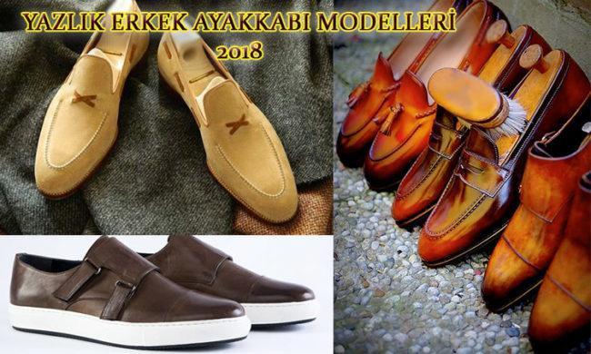 Yazlık Erkek Ayakkabı Modelleri 2018