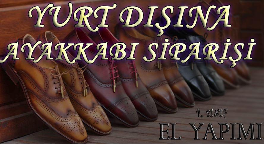 Yurt Dışına Ayakkabı Siparişi