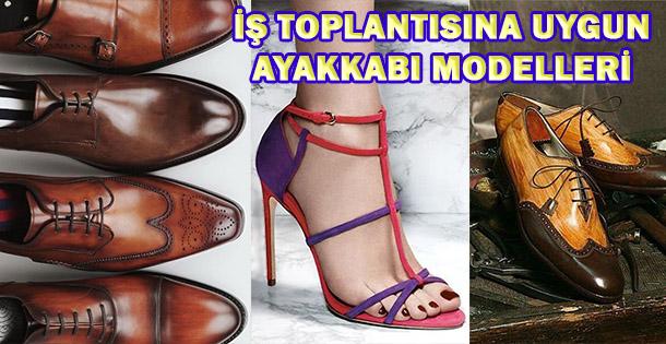 İş Toplantısına Uygun Ayakkabı Modelleri