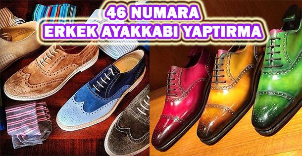 46 Numara Erkek Ayakkabı Yaptırma