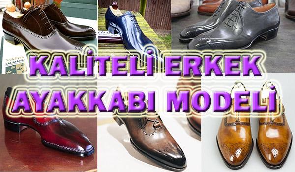 Al Beni Diye Bağıran 4 Erkek Ayakkabı Modeli