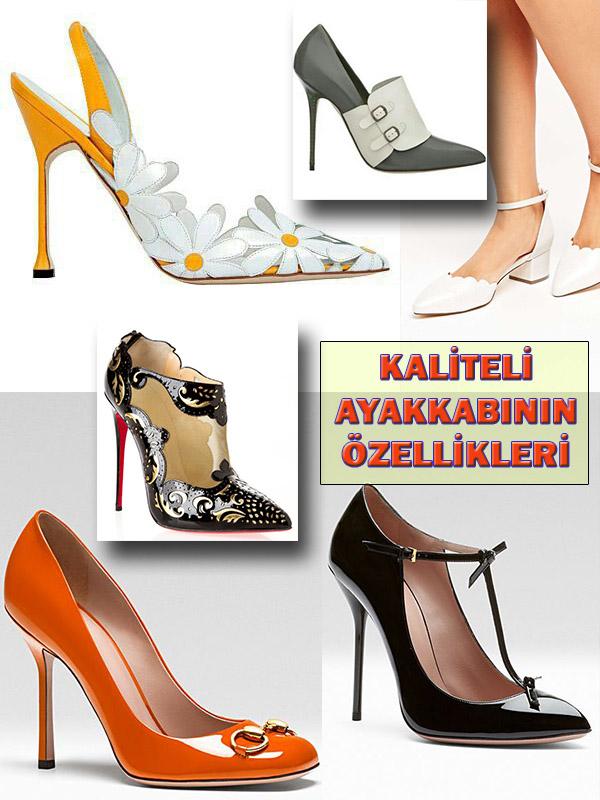 Kaliteli Ayakkabının Özellikleri