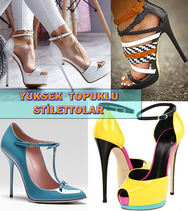 Yüksek Topuklu Stiletto Ayakkabı Modelleri