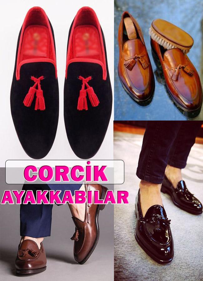 Erkeklere Özel Corcik Ayakkabı Modelleri