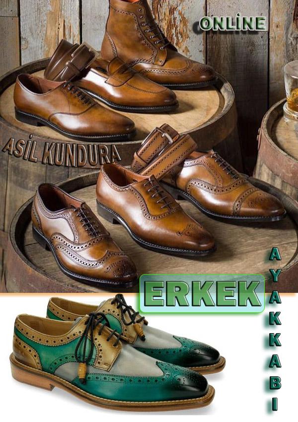 Erkeklere Özel Kaliteli Ayakkabı Yapımı