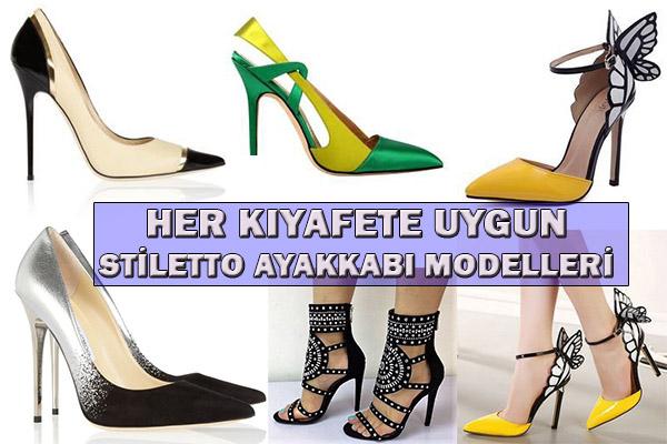 Her Kıyafete Uygun Stiletto Ayakkabı Modelleri