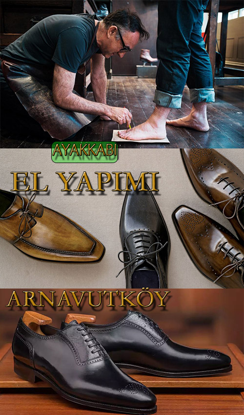 İstanbul Arnavutköy'de Erkek Ayakkabı Yapımı