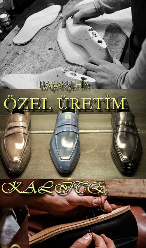 İstanbul Başakşehir'de Erkek Ayakkabı Üretimi