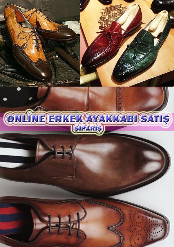 Online Erkek Ayakkabı Siparişi