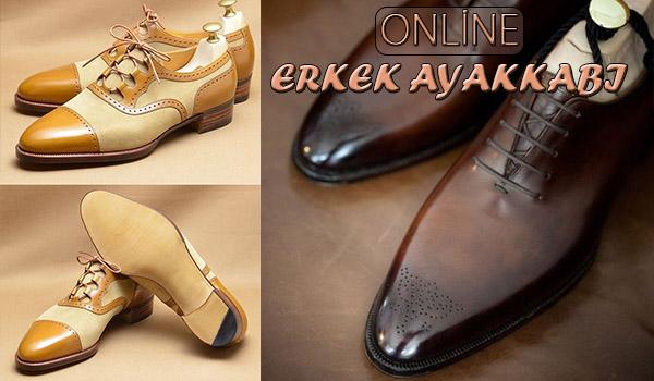 Online Erkek Ayakkabı Satış ve Siparişi