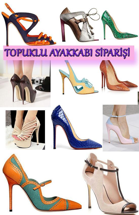 Özel Yapım Bayan Topuklu Ayakkabılar