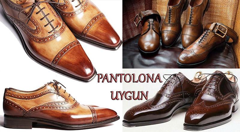 Pantolona Uygun Ayakkabı Modelleri