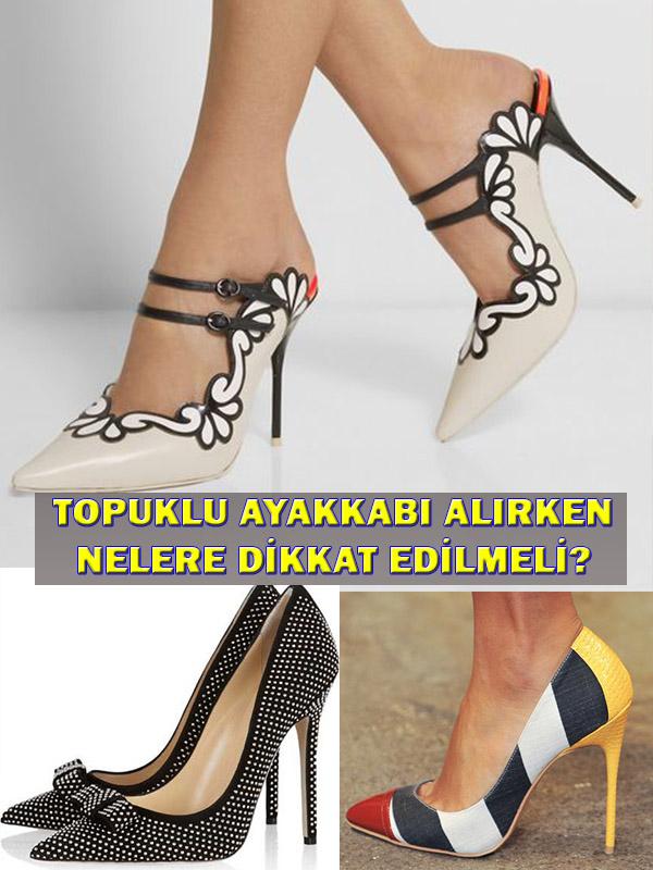 Topuklu Ayakkabı Alırken Nelere Dikkat Edilmeli?