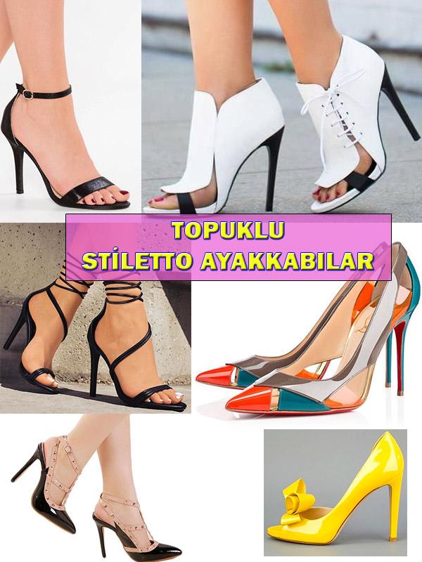 Topuklu Stiletto Ayakkabı Modelleri