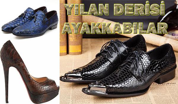 Yılan Derisi Ayakkabı Modelleri