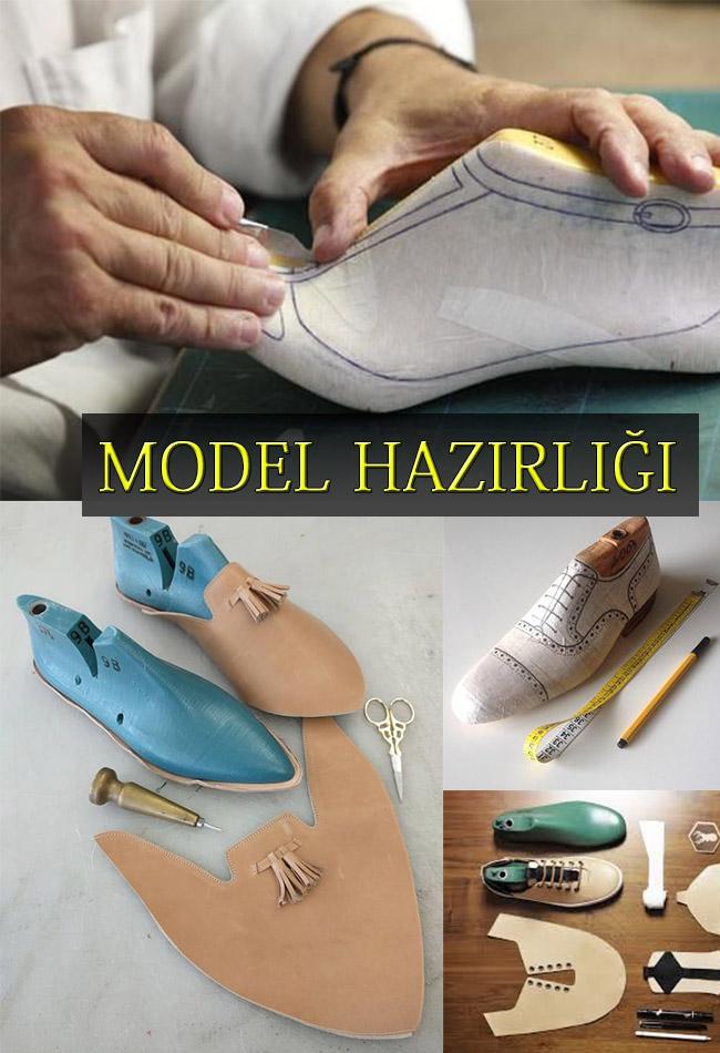 Ayakkabıda Model Hazırlığı - Tasarım