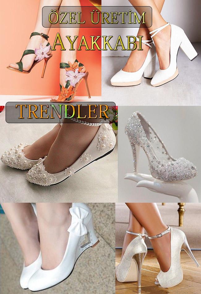 Gelinlik Ayakkabısı Modelleri - 1