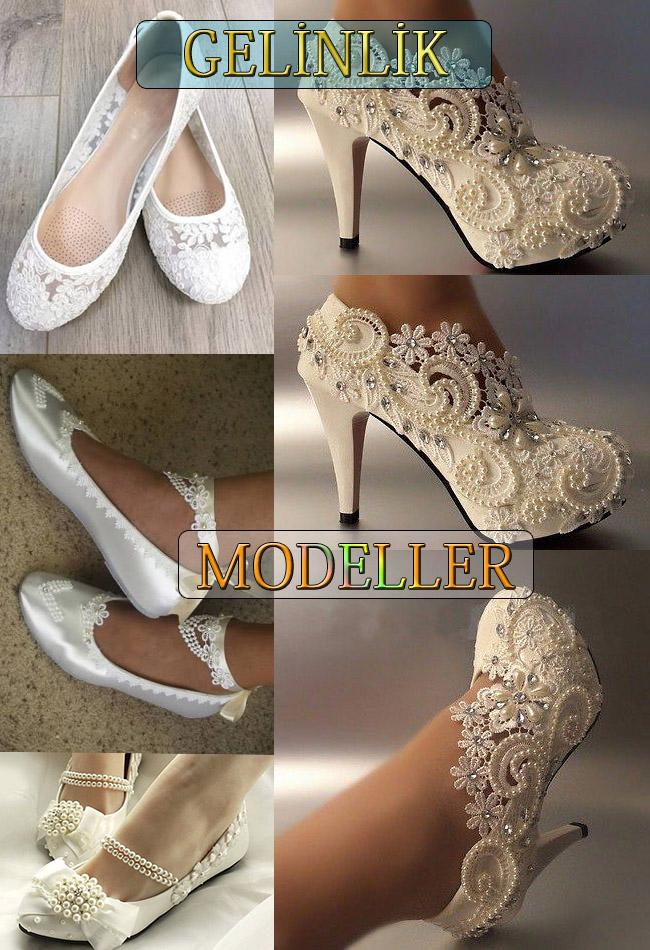 Gelinlik Ayakkabısı Modelleri - 4