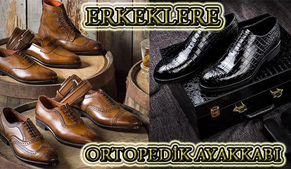 İzmir'de Erkeklere Özel Ortopedik Ayakkabı Siparişi
