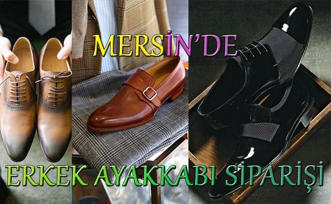 Mersin'de Erkeklere Özel Ayakkabı Siparişi