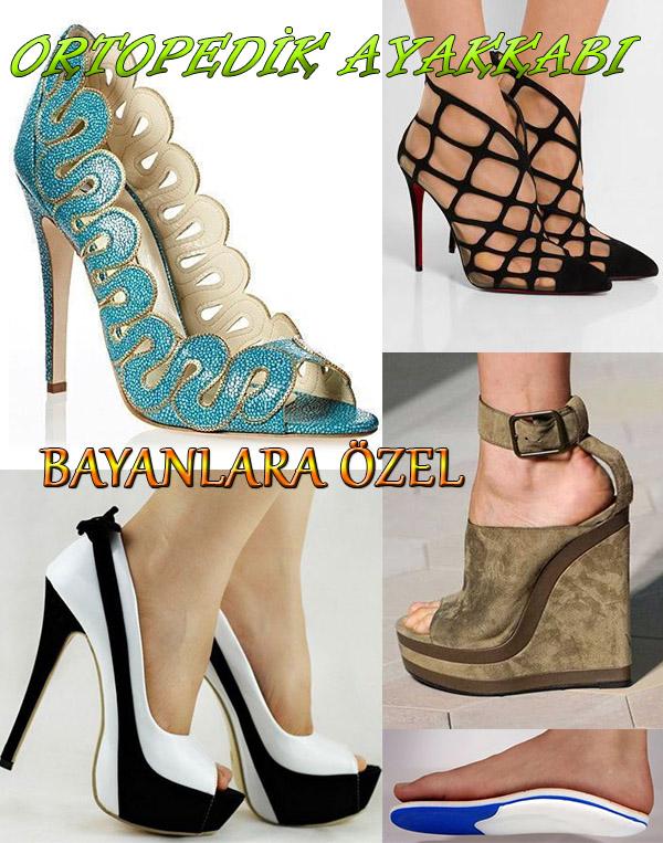 İstanbul'da Bayanlara Özel Ortopedik Ayakkabı Siparişi