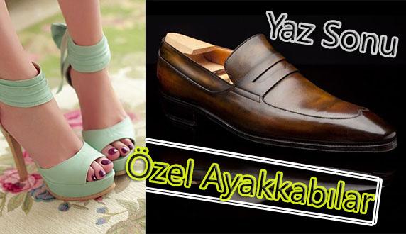 Yaz Sonu Ayakkabı Modelleri