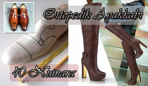 40 Numara Ortopedik Ayakkabı Fiyatları