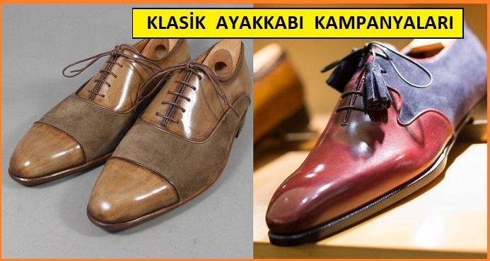 Klasik Erkek Ayakkabı Kampanyaları