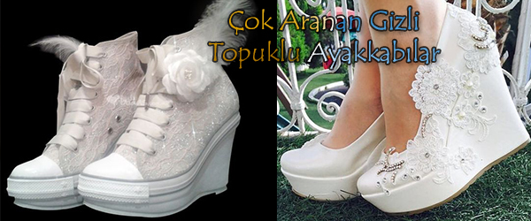 Çok Aranan Gelinlik Ayakkabı Modelleri