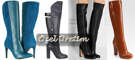 Özel Üretim Bayan Çizme Siparişi