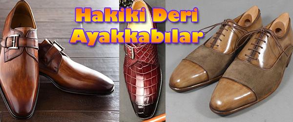 Hakiki Deri Erkek Ayakkabı Modelleri