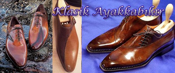 Klasik Erkek Ayakkabı Modelleri - Özel Sipariş