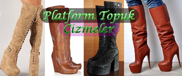 Platform Topuklu Çizme Siparişi