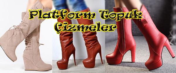 Platformlu Çizme Modelleri